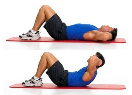 crunches for men