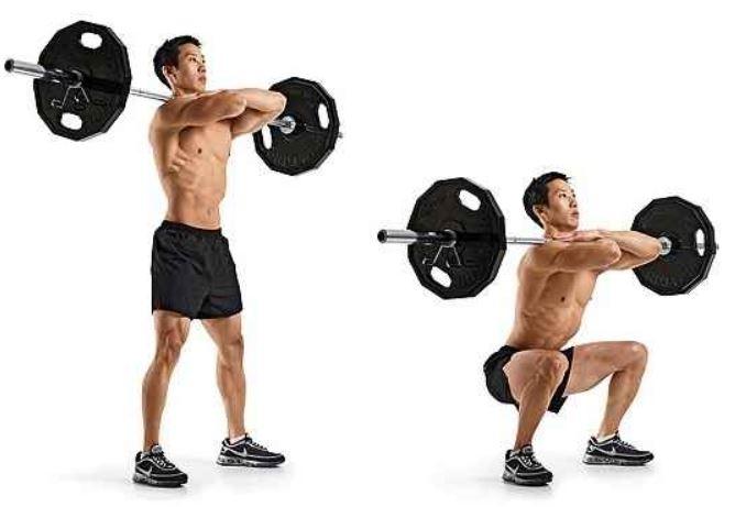 front squats1