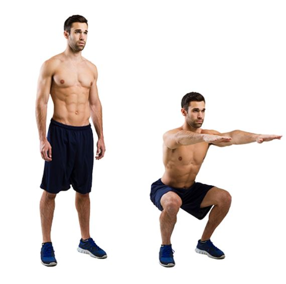 simple squats