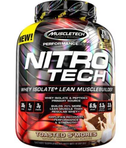 nitro tech whey protein