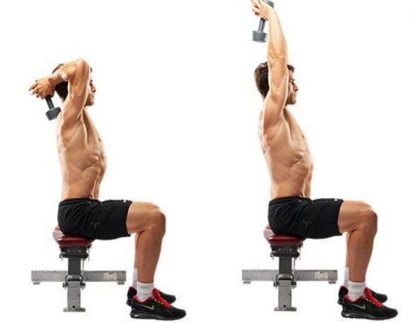 overhead triceps