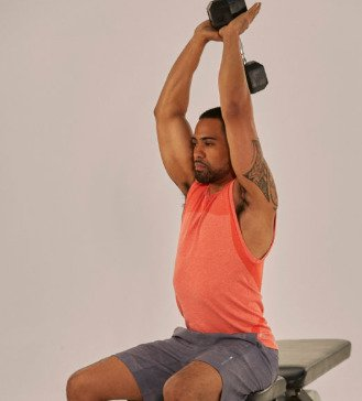 overhead triceps