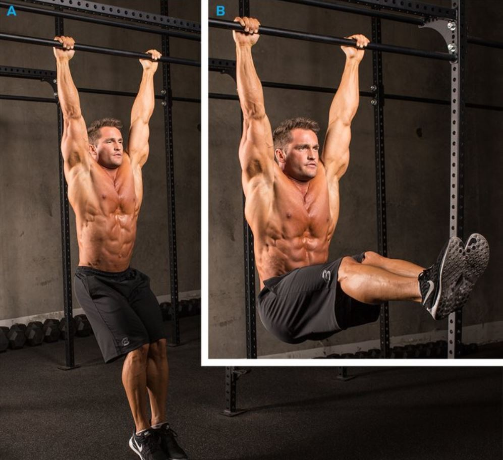 hanging leg raise 10