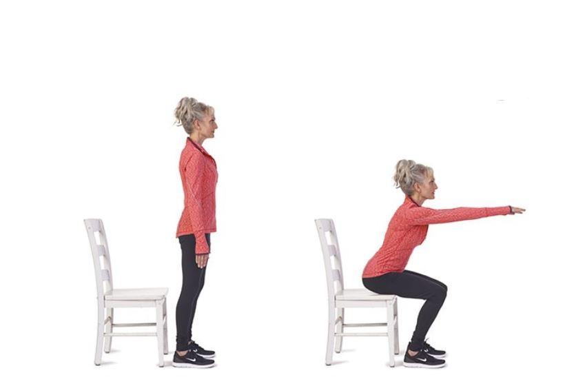 chair squat jump