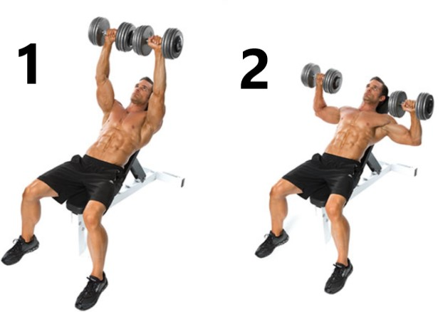 Incline dumbbell press1