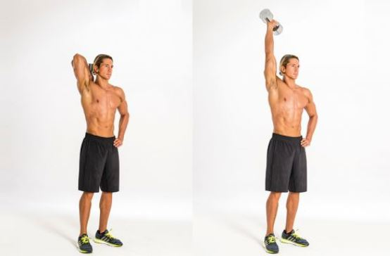one arm tricep extension 1