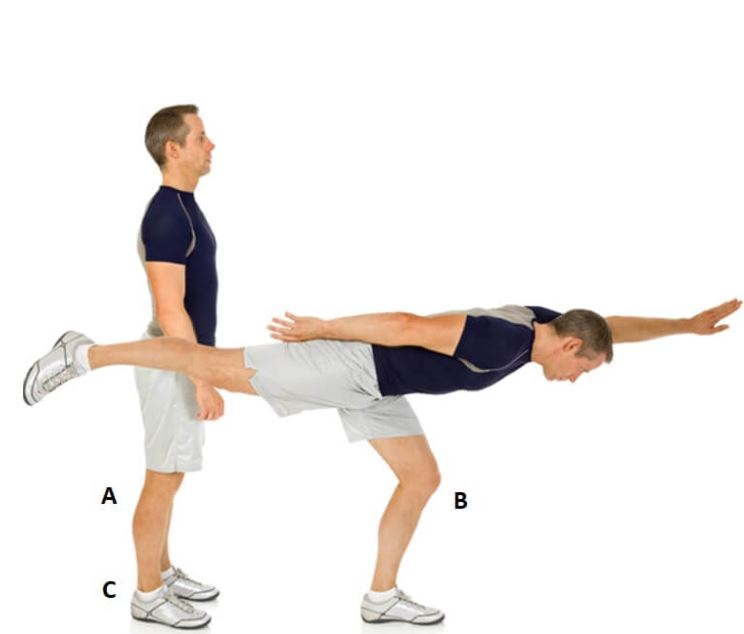 single leg deadlift bodyweight 1
