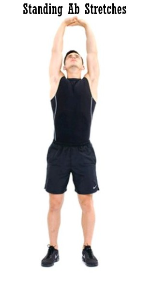 Standing Ab Stretches