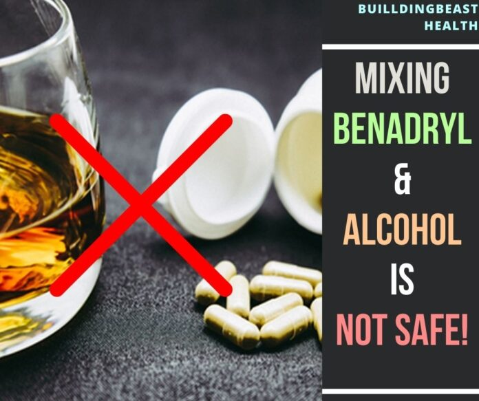 benadryl and alcohol
