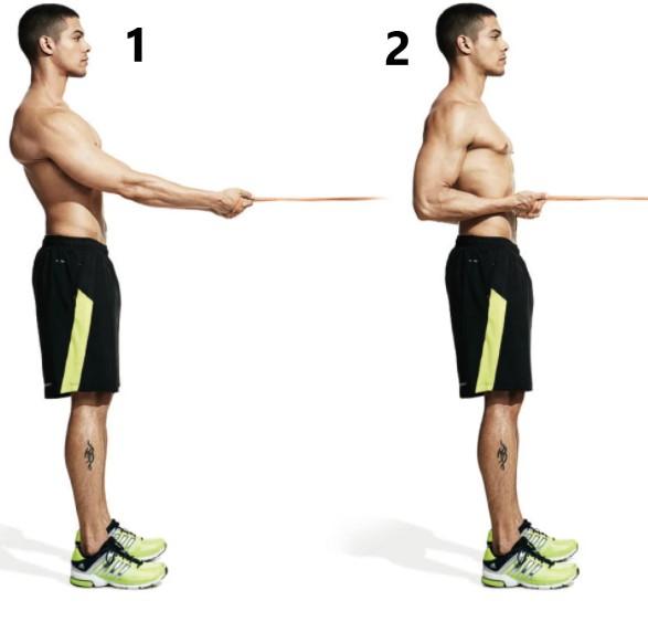 resistance band back exercises