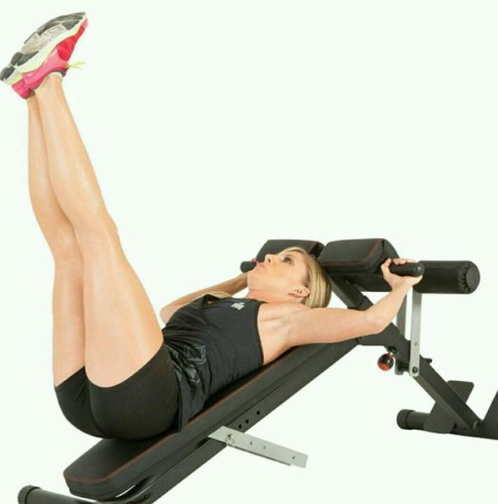 incline leg raise