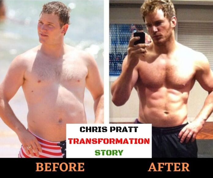 chris pratt workout transformation
