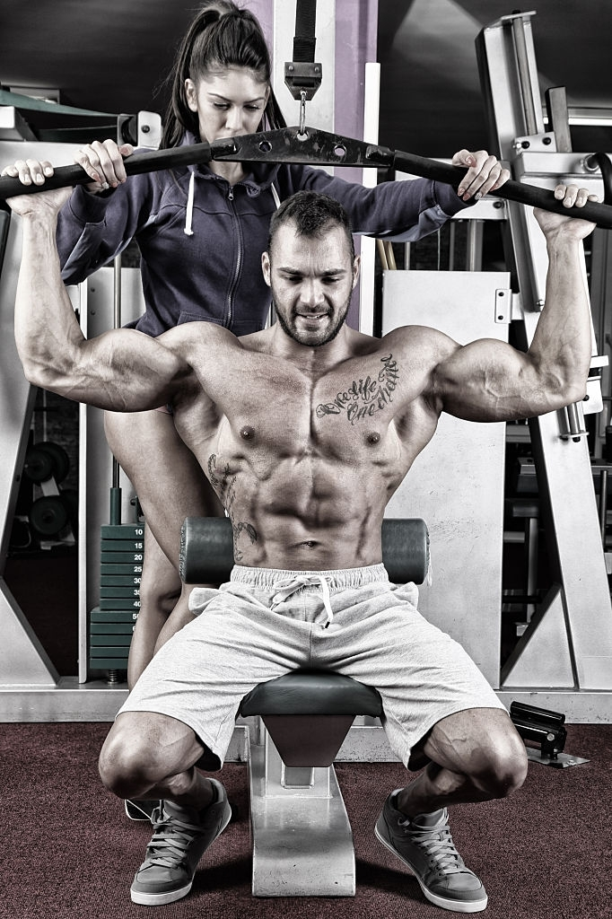 chest and back workout for strength