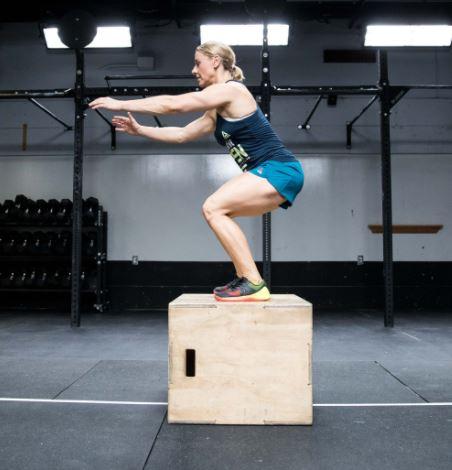 box jump burpee workout program