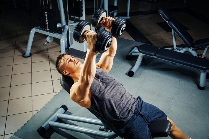 chest dumbbell workout for mass