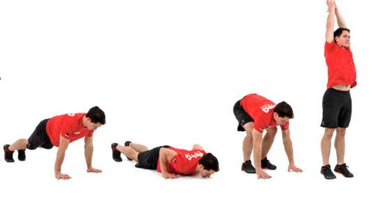 pushup burpee workout plan